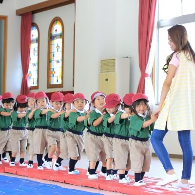 ヒル 幼稚園 グリーン
